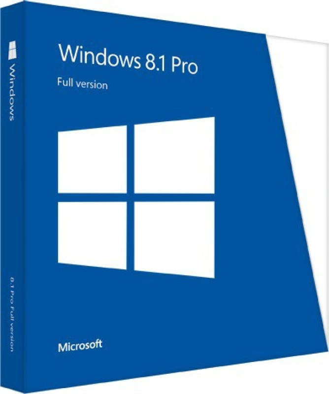 Microsoft Full Pack Windows 8.1 Pro 32/64 Bit