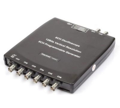 Hantek 1008C 8CH PC USB Automotive Diagnostic Digital DAQ Program Generator 8CH 2.4MSa/s vehicle tester Computer Based Oscilloscope