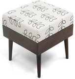 Urban Ladder Solid Wood Standard Ottoman...