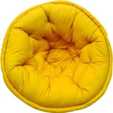 Reme Fabric Pouf (Finish Color - Multi)
