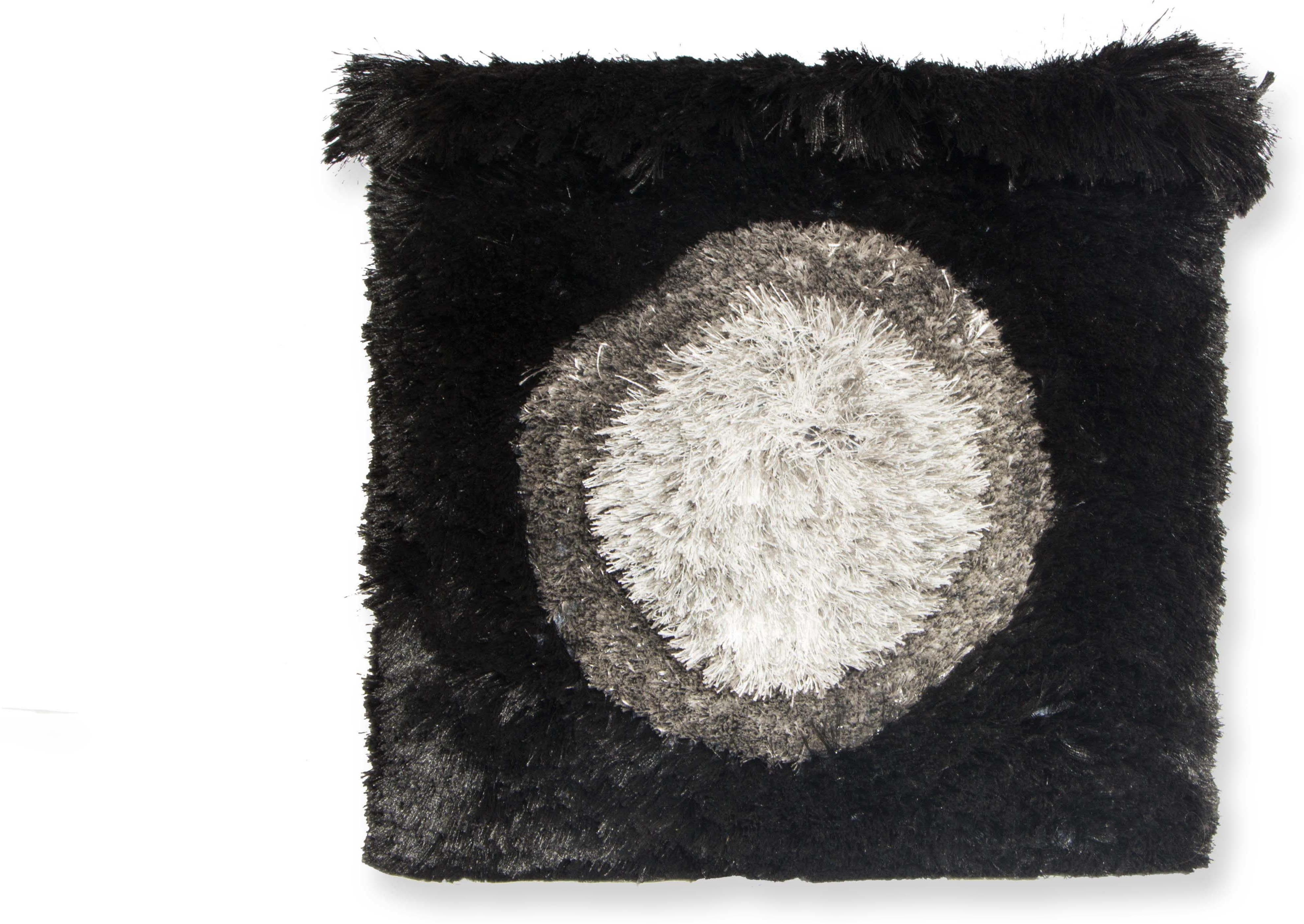 View NewFabricArt Natural Fiber Pouf(Finish Color - Black) Furniture (New Fabric Art)