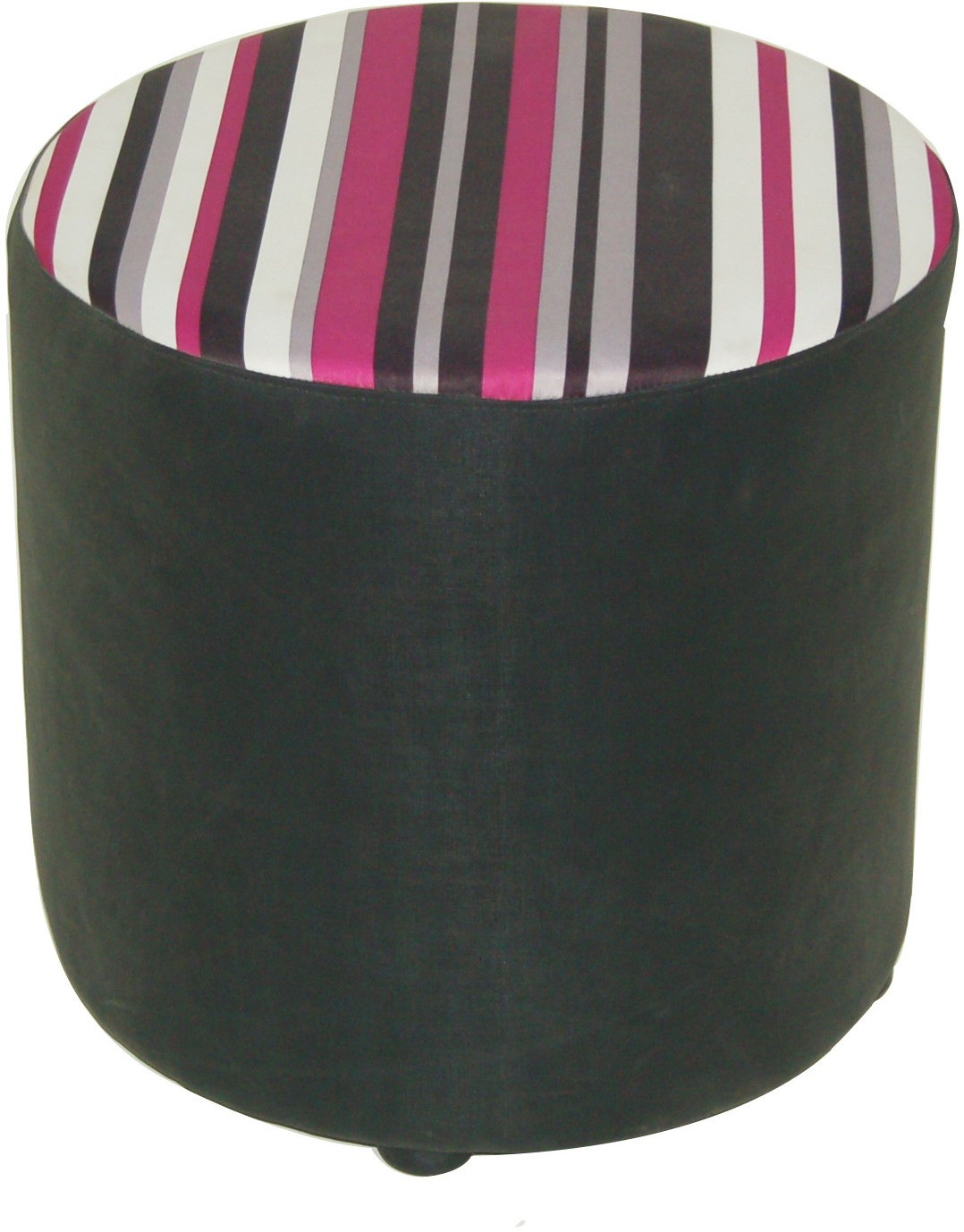 View Furnitech Engineered Wood Pouf(Finish Color - Black) Furniture (Furnitech)