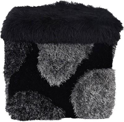 Firangi Foam Pouf(Finish Color - Black)