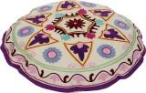 Rajrang Fabric Pouf (Finish Color - Off ...