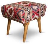 Palettino Solid Wood Standard Ottoman (F...