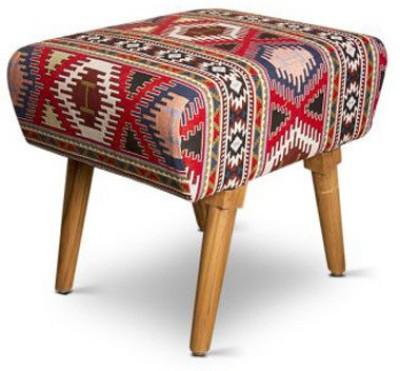 PALETTINO Solid Wood Standard Ottoman