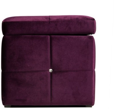 Absolute Leatherette Pouf