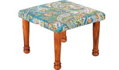 Wood Dekor Solid Wood Standard Ottoman