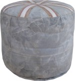 Marwar Solid Wood Pouf (Finish Color - G...