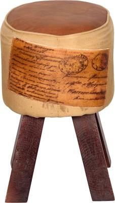 Induscraft Solid Wood Standard Ottoman