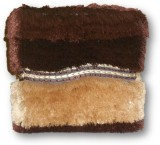 Sudesh Handloom Solid Wood Cube Ottoman ...