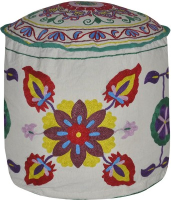Lal Haveli Fabric Pouf