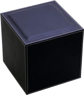 Index Leatherette Cube Ottoman