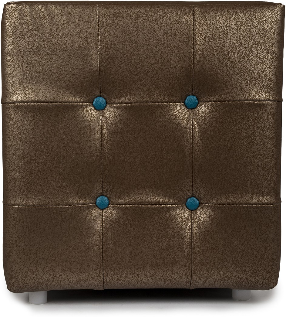 View Aadeshwar Enterprise Foam Pouf(Finish Color - Brown) Furniture (Aadeshwar Enterprise)