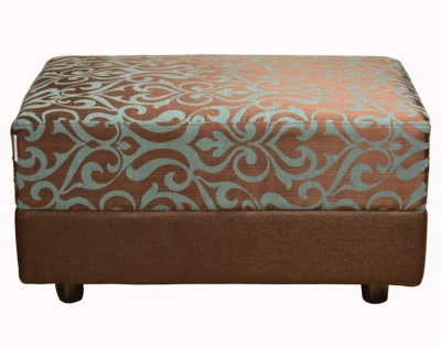 HomeTown Fabric Standard Ottoman