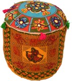 Rangrohi Fabric Standard Ottoman (Finish...