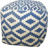 JJ Craft Natural Fiber Standard Ottoman ...