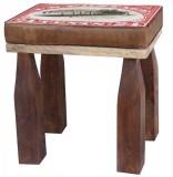 The Attic Solid Wood Standard Ottoman (F...