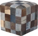 Induscraft Solid Wood Standard Ottoman (...