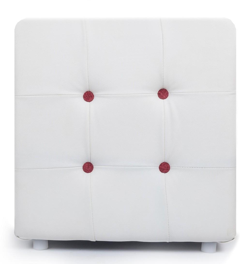 View Aadeshwar Enterprise Foam Pouf(Finish Color - White) Furniture (Aadeshwar Enterprise)
