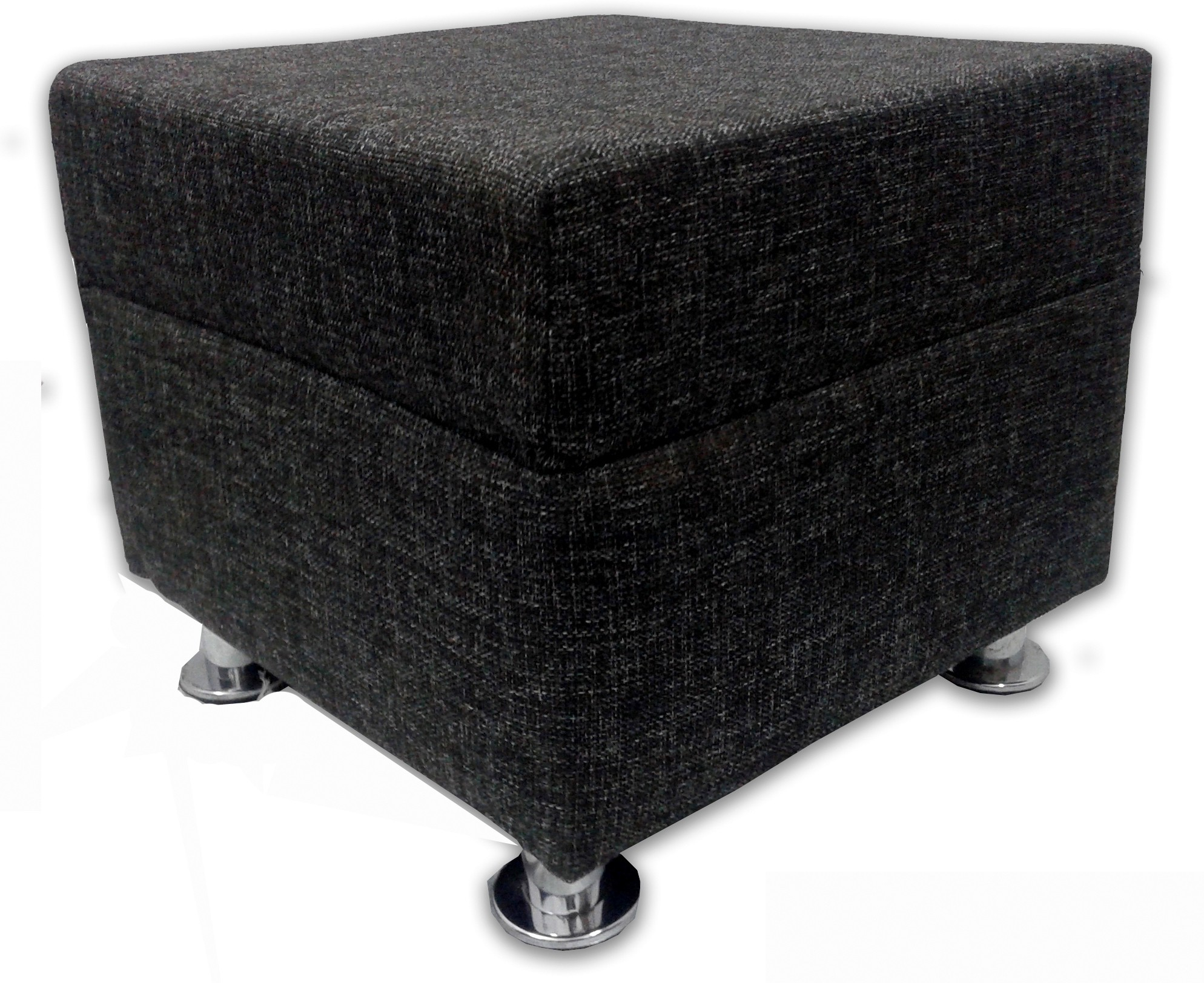 View Shakun Solid Wood Standard Ottoman(Finish Color - Jute Black) Furniture (Shakun)