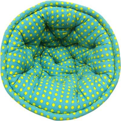 Reme Fabric Pouf(Finish Color - Multi)