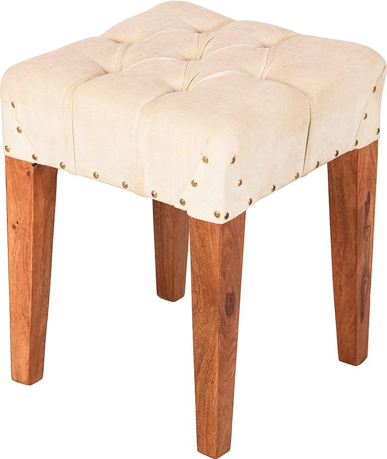 View Wood Dekor Solid Wood Standard Ottoman(Finish Color - Brown) Furniture (Wood Dekor)