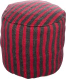 Artasia Fabric Pouf (Finish Color - Mult...