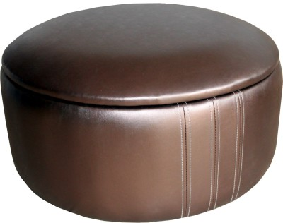 Amey Leatherette Standard Ottoman