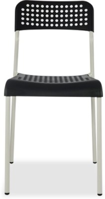 Durian ZEAL-BLACK Synthetic Fiber Outdoor Chair(Finish Color - Black)