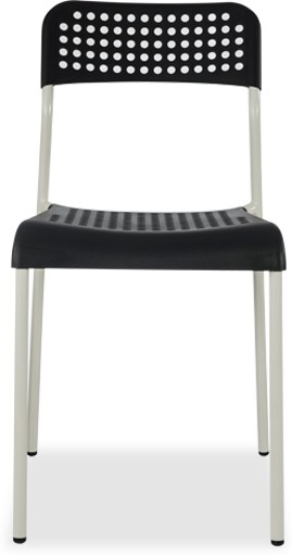 View Durian ZEAL-BLACK Synthetic Fiber Outdoor Chair(Finish Color - Black) Price Online(Durian)