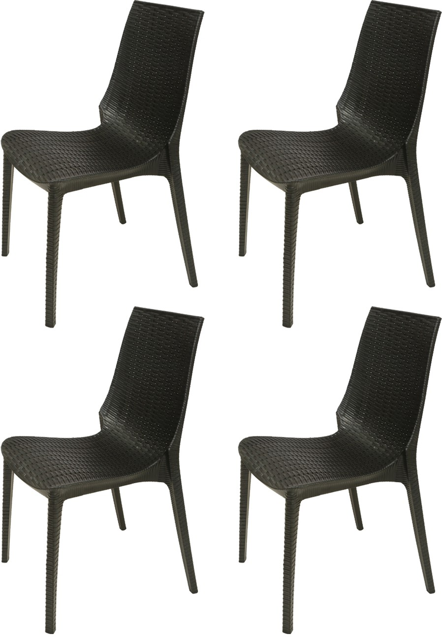supreme lumina plastic outdoor chair finish color black furniture