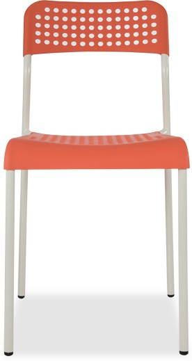 View Durian ZEAL-ORANGE Synthetic Fiber Outdoor Chair(Finish Color - Orange) Price Online(Durian)