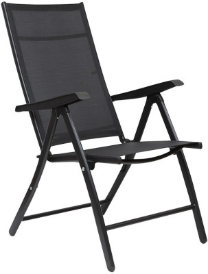 HomeTown JET FOLDING Metal Outdoor Chair(Finish Color - Black)