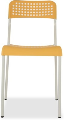Durian ZEAL-YELLOW Synthetic Fiber Outdoor Chair(Finish Color - Yellow)