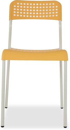 View Durian ZEAL-YELLOW Synthetic Fiber Outdoor Chair(Finish Color - Yellow) Price Online(Durian)