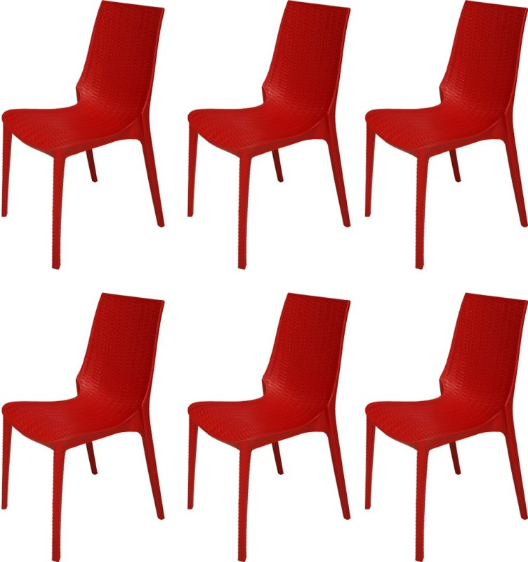 Buy outdoor cafeteria chairs online - Red plastic outdoor chairs ...
