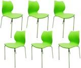 Mavi Plastic Cafeteria Chair (Finish Col...