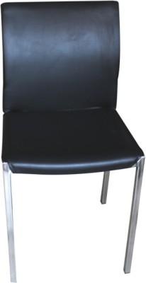 Mavi Plastic Cafeteria Chair(Finish Color - Black)