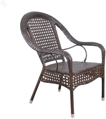 Royal Oak Camp Synthetic Fiber Outdoor Chair(Finish Color - Dark Finish)