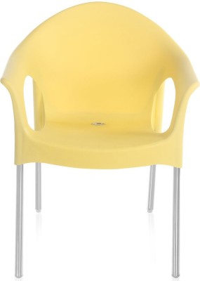 Nilkamal Novella 09 Plastic Outdoor Chair(Finish Color - Yellow)
