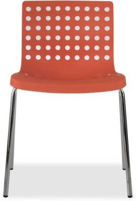 Durian ZACK-ORANGE Synthetic Fiber Outdoor Chair(Finish Color - Orange)