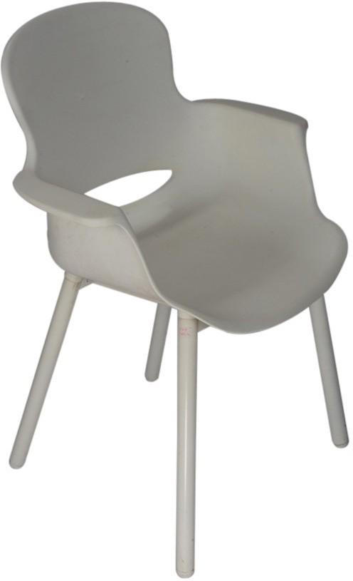 View Ventura Plastic Cafeteria Chair(Finish Color - White) Furniture (Ventura)