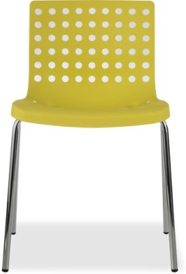 Durian ZACK-YELLOW Synthetic Fiber Outdoor Chair(Finish Color - Yellow)