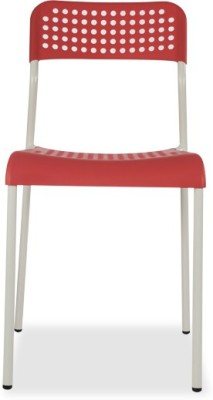 Durian ZEAL-RED Synthetic Fiber Outdoor Chair(Finish Color - Red)