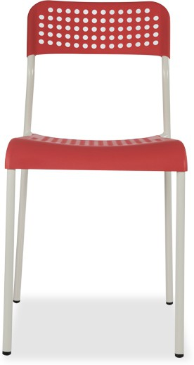 View Durian ZEAL-RED Synthetic Fiber Outdoor Chair(Finish Color - Red) Price Online(Durian)