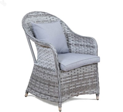 Royal Oak Resort Synthetic Fiber Outdoor Chair(Finish Color - Grey)