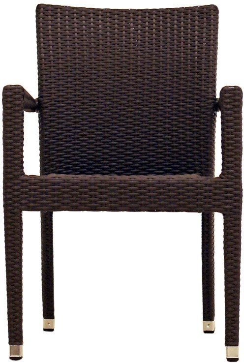 View Studio F Arden Synthetic Fiber Outdoor Chair(Finish Color - Brown) Furniture (Studio F)