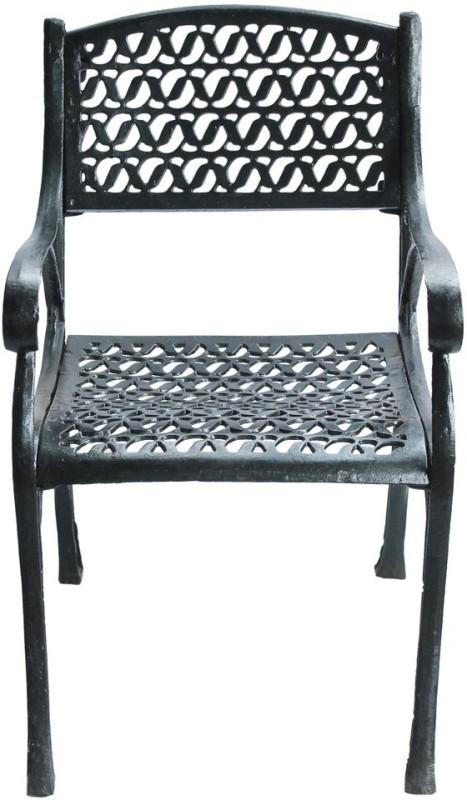 Karara Mujassme Metal Outdoor Chair(Finish Color - Black)
