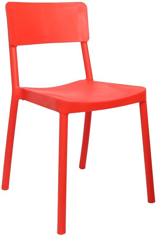 View Cello Furniture Plastic Cafeteria Chair(Finish Color - Red) Price Online(Cello Furniture)